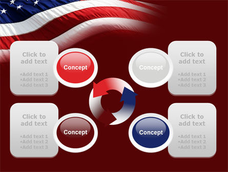 Old Glory PowerPoint Template Slide 9