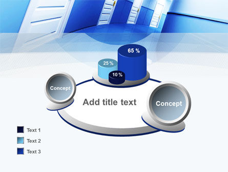 Tilted Corridor PowerPoint Template Slide 16