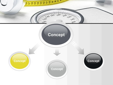 Weight Control PowerPoint Template, Slide 4, 10317, Medical — PoweredTemplate.com