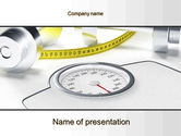 Medical: Weight Control PowerPoint Template #10317