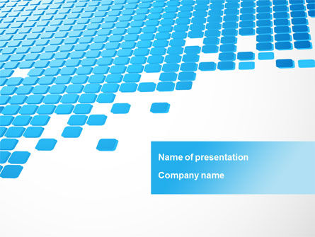Abstract/Textures: Formation PowerPoint Template #10318