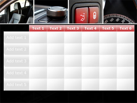 Car Interior Design PowerPoint Template Slide 15