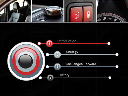 Car Interior Design PowerPoint Template, Slide 3, 10319, Careers/Industry — PoweredTemplate.com