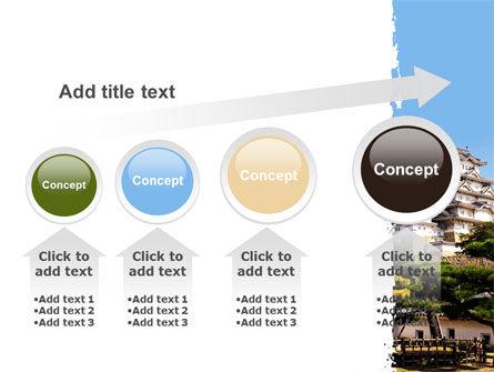 Himeji Castle PowerPoint Template Slide 13