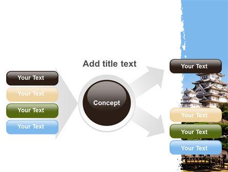 Himeji Castle PowerPoint Template Slide 14