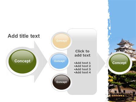 Himeji Castle PowerPoint Template Slide 17