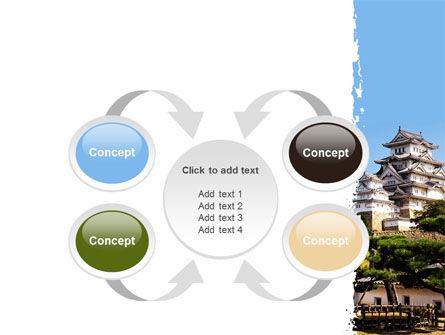 Himeji Castle PowerPoint Template Slide 6