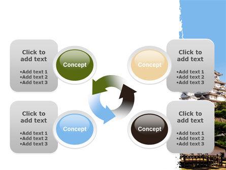 Himeji Castle PowerPoint Template Slide 9