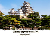 Construction: Himeji Castle PowerPoint Template #10321