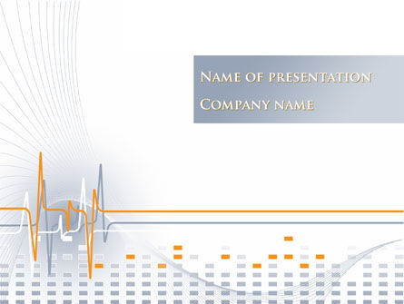 Medical: Cardio Theme PowerPoint Template #10328