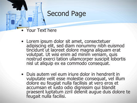 Lab Glass Equipment PowerPoint Template Slide 2