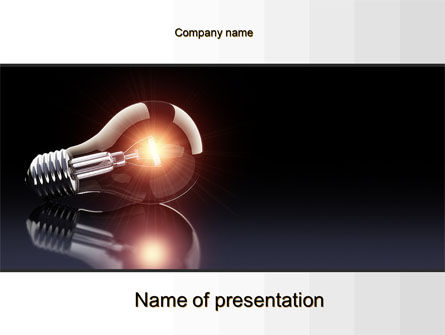 Business Concepts: Bulb PowerPoint Template #10331