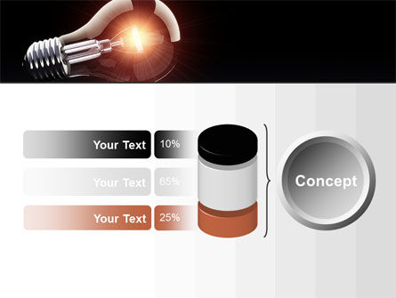 Bulb PowerPoint Template Slide 11
