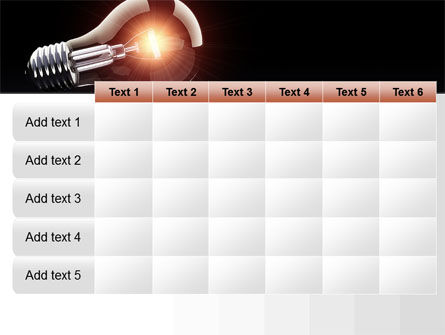 Bulb PowerPoint Template Slide 15