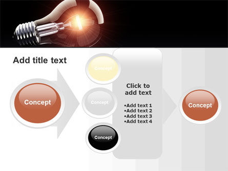 Bulb PowerPoint Template Slide 17