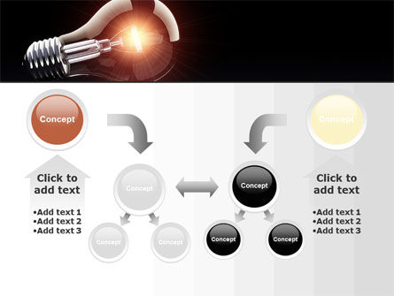 Bulb PowerPoint Template Slide 19