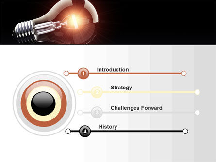 Bulb PowerPoint Template Slide 3