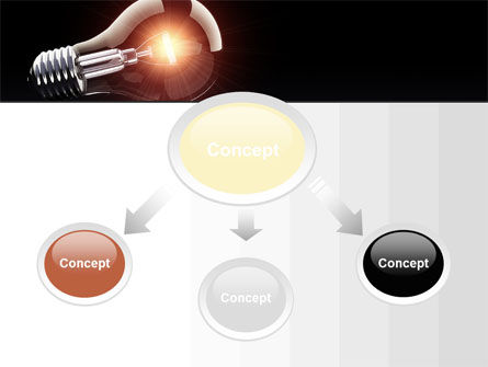 Bulb PowerPoint Template Slide 4