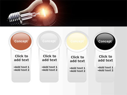 Bulb PowerPoint Template Slide 5