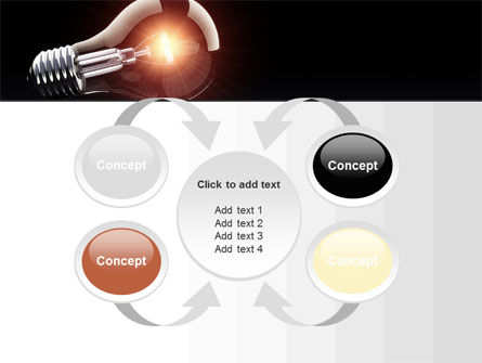 Bulb PowerPoint Template Slide 6