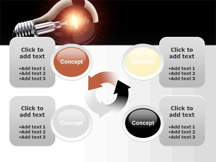 Bulb PowerPoint Template Slide 9