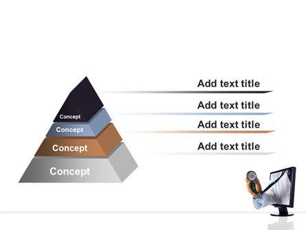 Internet Medicine PowerPoint Template Slide 12