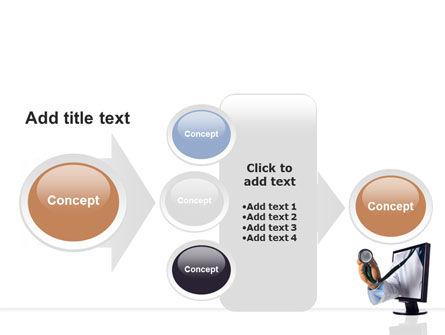 Internet Medicine PowerPoint Template Slide 17