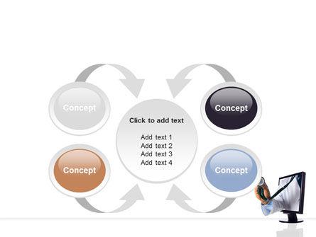 Internet Medicine PowerPoint Template Slide 6