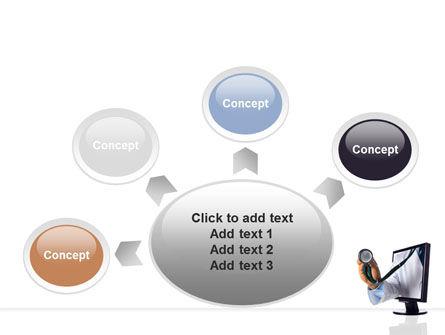 Internet Medicine PowerPoint Template Slide 7