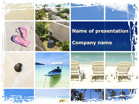Resort Presentation PowerPoint Template, 10334, Careers/Industry — PoweredTemplate.com