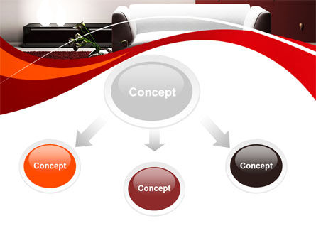 Red and White Interior PowerPoint Template, Slide 4, 10335, Careers/Industry — PoweredTemplate.com