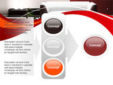 Red and White Interior PowerPoint Template#11