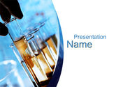 Technology and Science: Biological Samples PowerPoint Template #10340