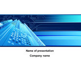 Technology and Science: Technological PowerPoint Template #10341