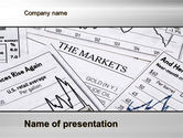 Financial/Accounting: Market Report PowerPoint Template #10342