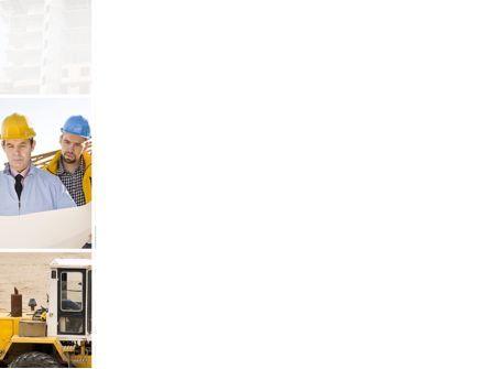 Construction Process PowerPoint Template, Slide 3, 10343, Careers/Industry — PoweredTemplate.com