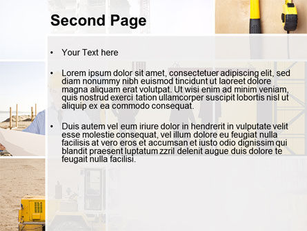 Construction Process PowerPoint Template Slide 2
