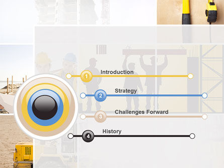 Construction Process PowerPoint Template, Slide 3, 10343, Careers/Industry — PoweredTemplate.com