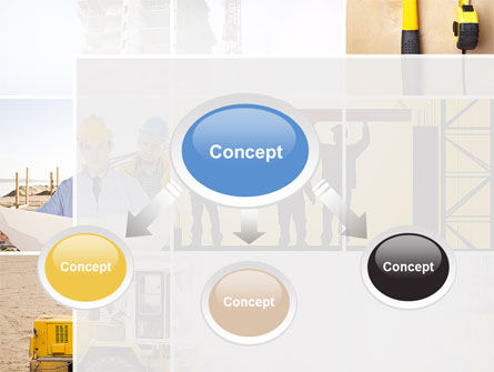 Construction Process PowerPoint Template, Slide 4, 10343, Careers/Industry — PoweredTemplate.com