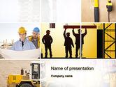 Construction Process PowerPoint Template#1