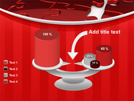 Gap in Puzzle PowerPoint Template Slide 10