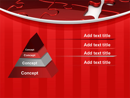 Gap in Puzzle PowerPoint Template Slide 12