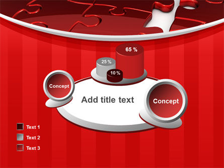 Gap in Puzzle PowerPoint Template Slide 16