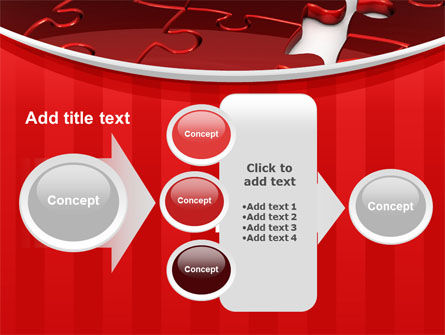 Gap in Puzzle PowerPoint Template Slide 17