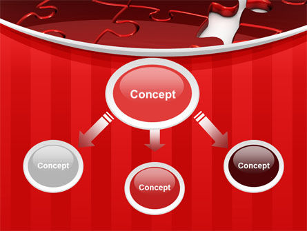 Gap in Puzzle PowerPoint Template Slide 4