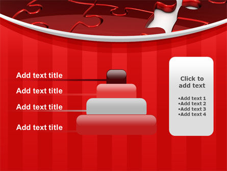 Gap in Puzzle PowerPoint Template Slide 8