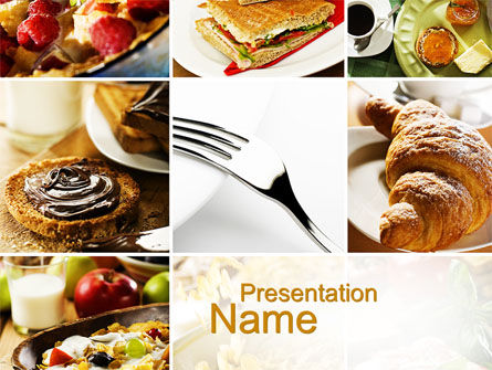 Food & Beverage: Confectionery PowerPoint Template #10347