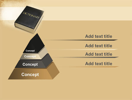Dictionary Book PowerPoint Template Slide 12