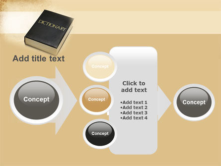 Dictionary Book PowerPoint Template Slide 17