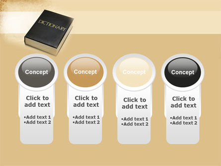 Dictionary Book PowerPoint Template Slide 5